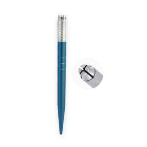 قلم میکروبیلدینگ ساده آبی