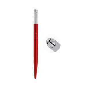 قلم میکروبیلدینگ ساده قرمز