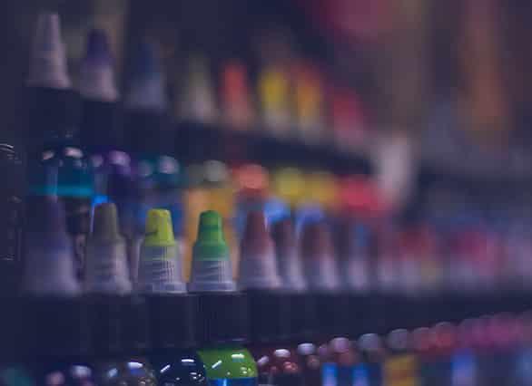 انواع رنگ تاتو | صفر تا صد همه چیز درباره رنگ های تاتو